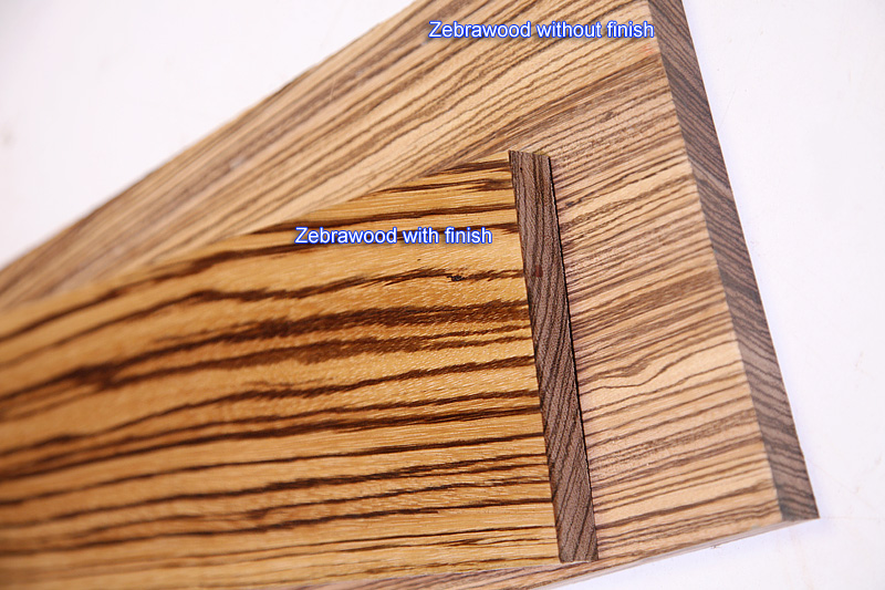 Zebrawood 44 Craft Pack 10 Board Feet Woodworkers Source