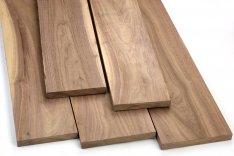 """1 Piece Sale Air Dried  24/"""" x 3/"""" x 1//2/"""" Beautiful Black Walnut Lumber Wood"""