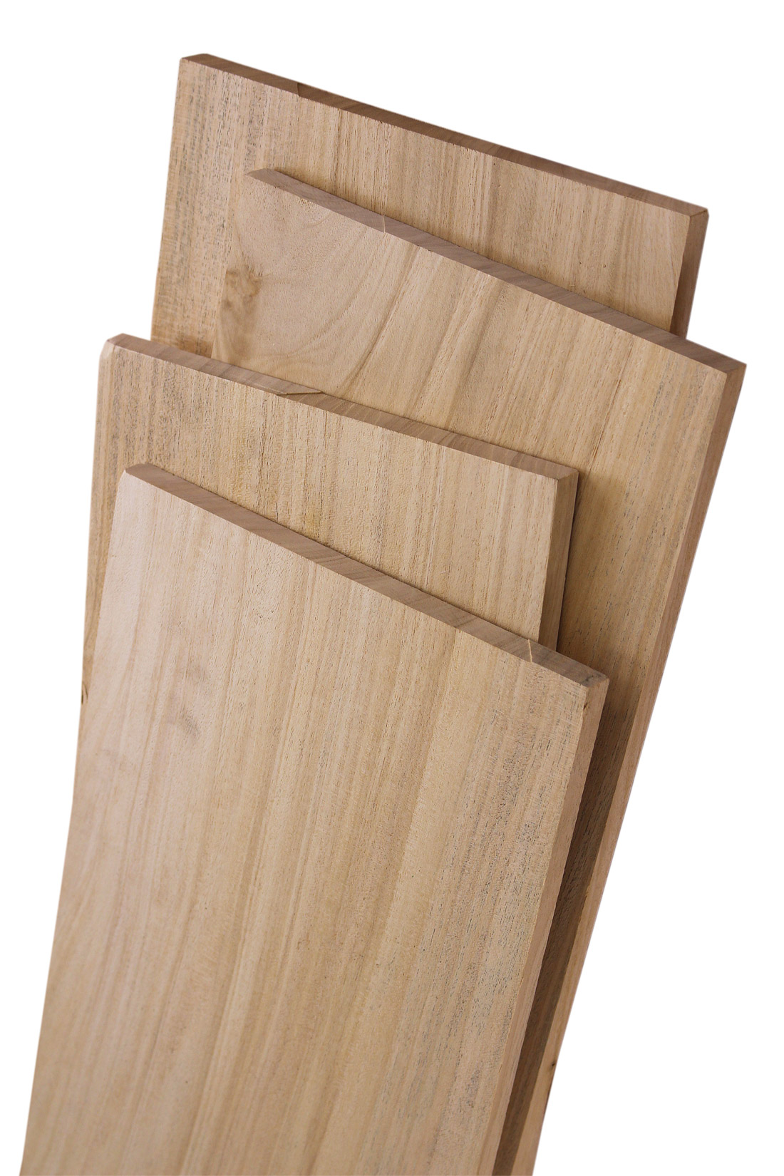 "Primavera 1/2"" Quarter Sawn Craft Pack: 10 Square Feet"